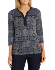 Regatta - Aztec Tunic 3/4 Sleeve Tee