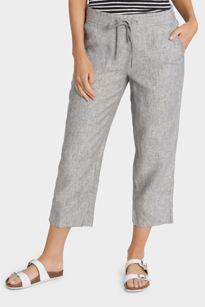 Regatta - Essential Linen Crop Pant