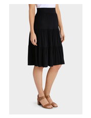 Regatta - Ruched Tiered Skirt