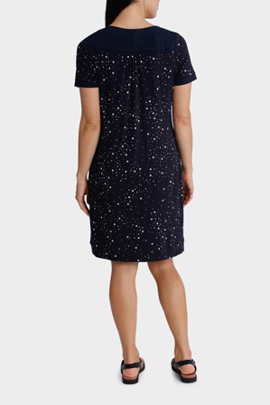 Regatta - Starry Night Knit/Woven Dress