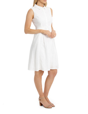 Regatta - Solid Broderie Sleeveless Dress