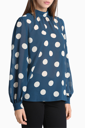 Hi There From Karen Walker - Spot Swing Blouse