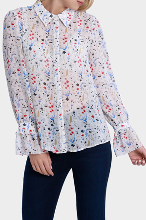 Hi There From Karen Walker - Galaxy Soft Shirt