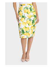 Leona by Leona Edmiston - Lemoncello Pencil Skirt