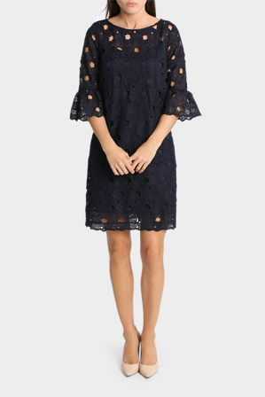 Hi There From Karen Walker - Lace Dress With Bell Sleeve