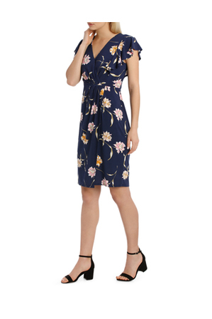 Leona by Leona Edmiston - Flutter Tuck Dress