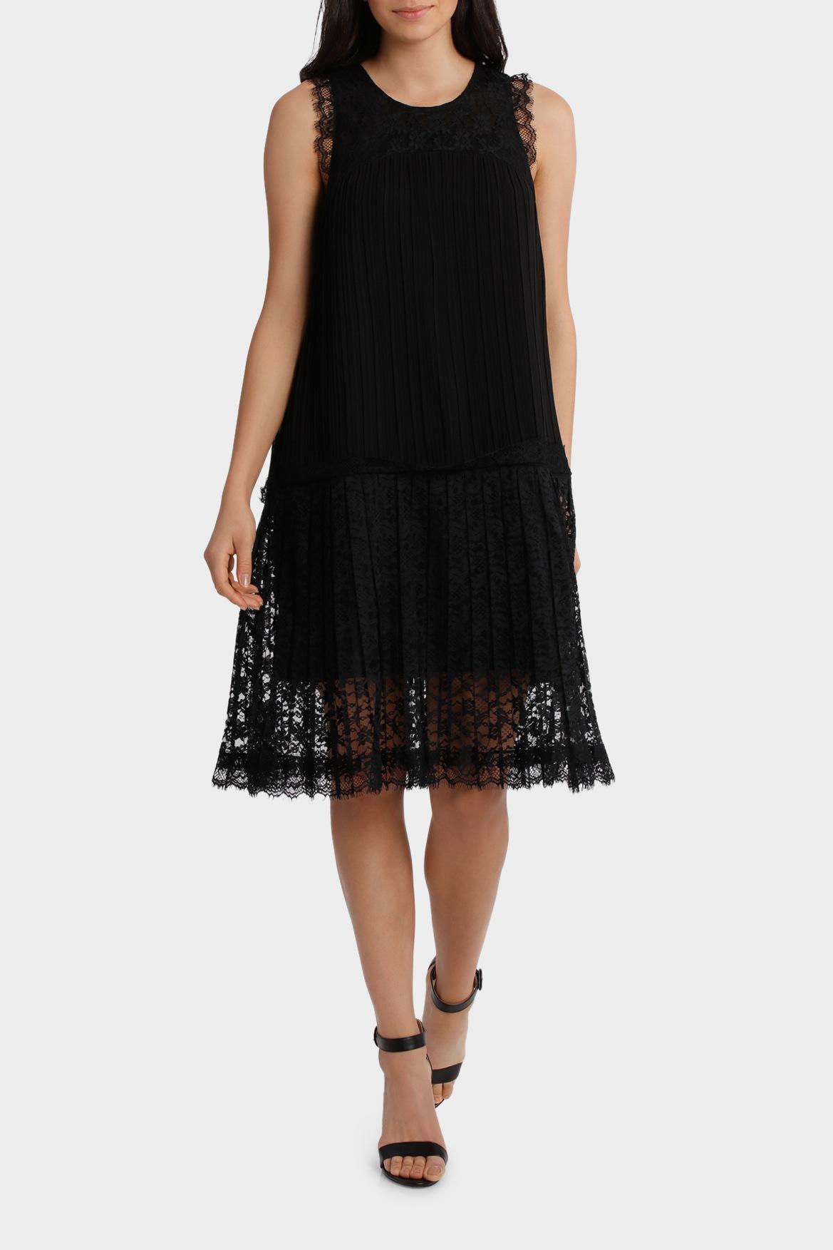 Jayson Brunsdon Black Label Black Lace Dress Myer Online
