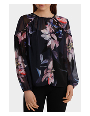 Wayne Cooper - Floral Braid Top