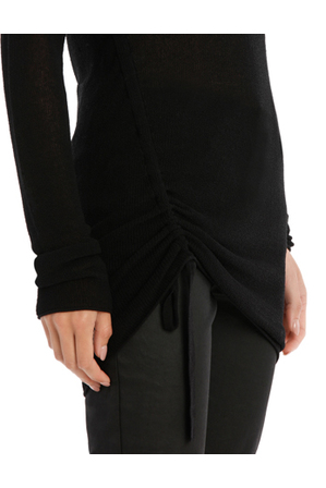 Wayne Cooper - Longline Knit With Tie Detail