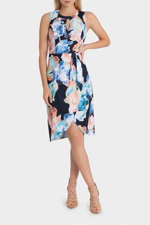 Wayne Cooper - Dimensional Floral Tuplip Dress