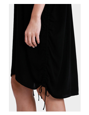 Wayne Cooper - Side Ruched Tunic Dress