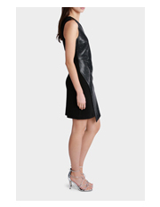 Wayne Cooper - Pleather Stud Dress