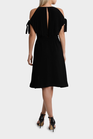 Wayne Cooper - Batwing Tie Dress