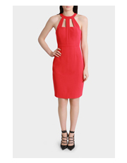 Wayne Cooper Events - Structured Pencil Short Dress