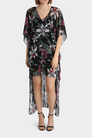 Wayne Cooper Events - Floral High Low Dress