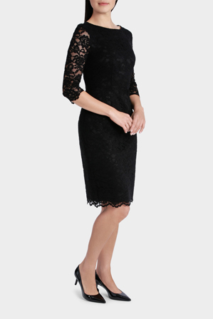 Trent Nathan Events - Lace Half Sleeve Dress