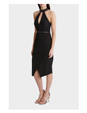 Wayne Cooper Events - Halo Neck Assymetrical Dress