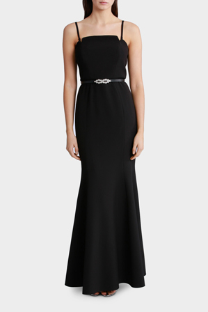 Wayne Cooper Events - Bustier Strapless Maxi Dress