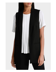 Basque - Ponte One Button Vest