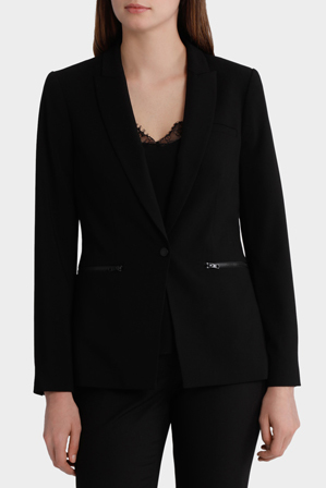 Basque - Essential Zip Pocket Suit Jacket