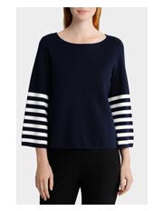 Basque - Bell Sleeve Boxy Jumper
