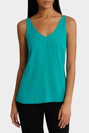 Basque - Double Layer Woven Cami