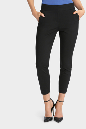 Basque - Slim Fit Stretch Ankle Pant