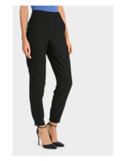 Basque - Seam Front Crepe Jogger Pant