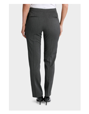 Basque - Micro Stripe Straight Leg Suit Pant