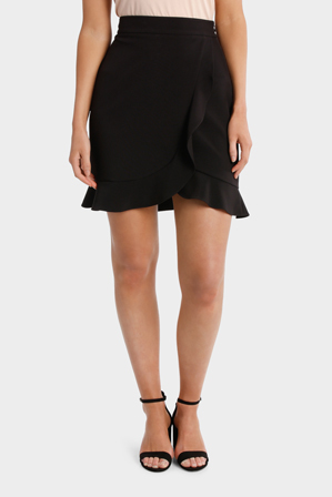 Basque Petites - Ruffle Wrap Skirt