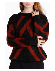 Piper - Jacquard Print Sweater