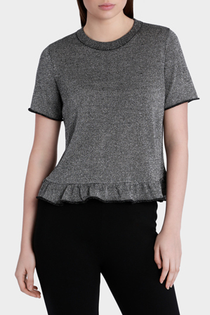 Piper - Sweater Short Sleeve Lurex
