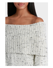Piper - Sweater Off Shoulder