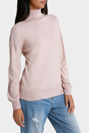 Piper - Roll Neck Wide Sleeve Sweater