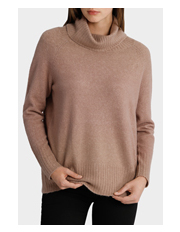 Piper - Roll Neck Oversized -  Solid