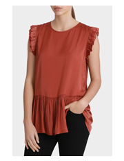 Piper - Frill Sleeve Top