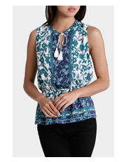 Piper - Print Short Sleeve Top