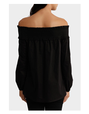 Piper - Top shirred off shoulder