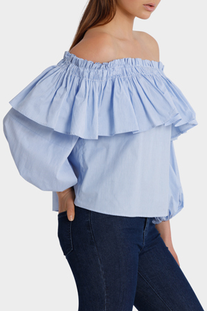 Piper - Off Shoulder Top with Full Sleeve