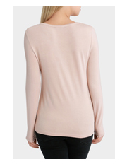 Piper - Long Sleeve Crew Neck Fitted Tee