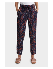 Piper - Dropped Crotch Printed Pant