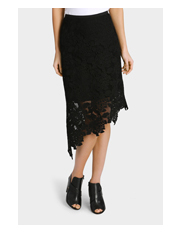 Piper - Lace Assymetrical Skirt
