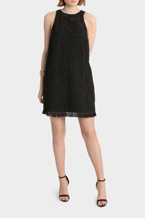 Piper - Lace Detail Swing Dress
