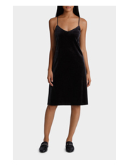 Piper - Velvet Slip Dress