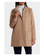 Piper - Coat with Patch Pocket