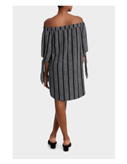 Piper - Dress off Shoulder with Tie
