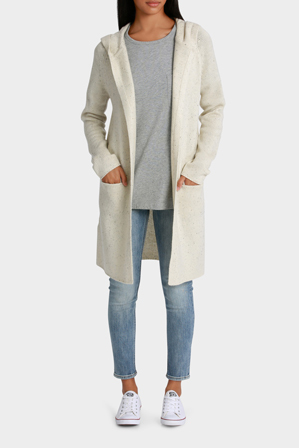 Grab - Cardigan with Hood