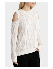 Grab - Sweater Cable with Cold Shoulder
