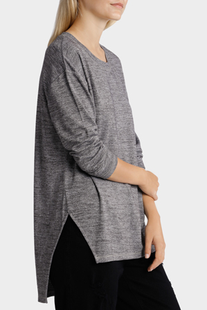 Grab - Tee Longline Oversized Long Sleeve
