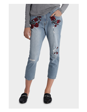 Grab - Embroidered Jean